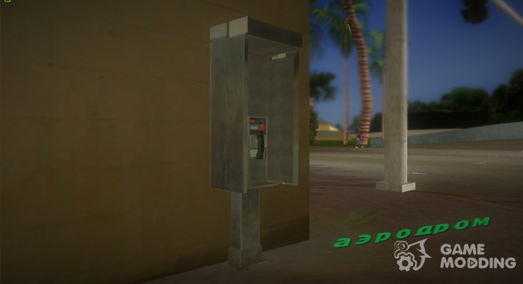 Phonebooth from GTA 4 for GTA Vice City