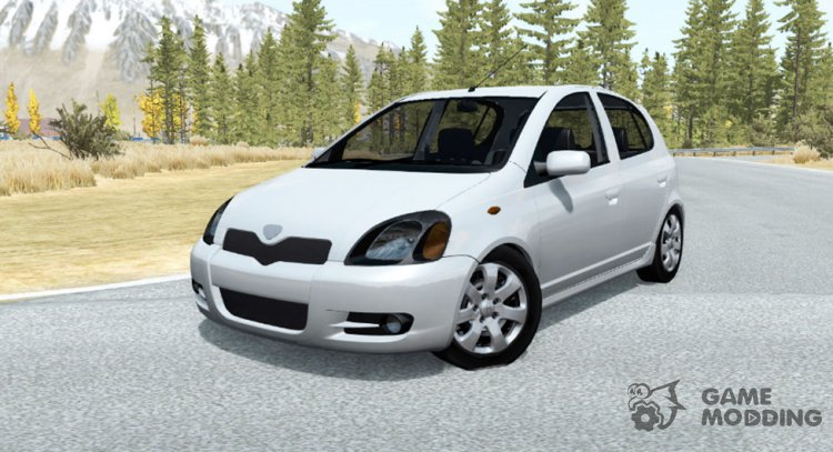 Toyota Vitz RS 5-door (P10) 2000 for BeamNG.Drive
