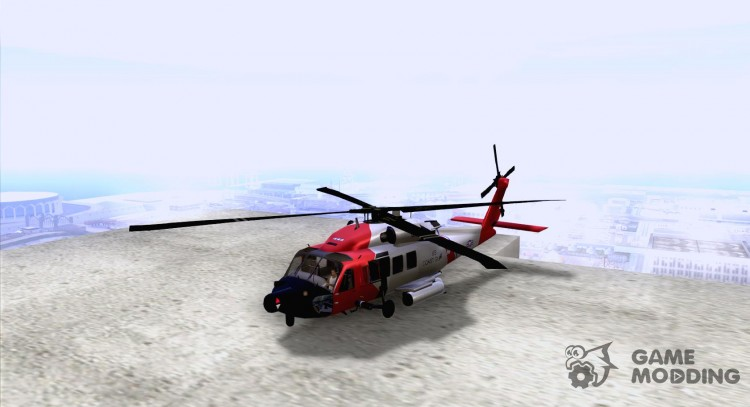 HH-60 Jayhawk USCG for GTA San Andreas