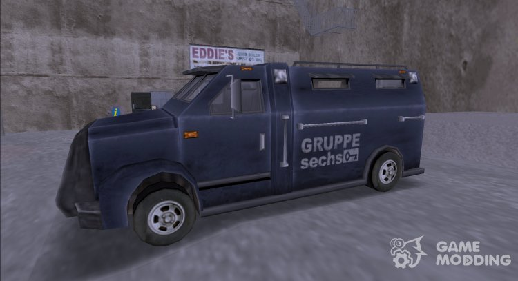 Bulletprof Securica for GTA 3