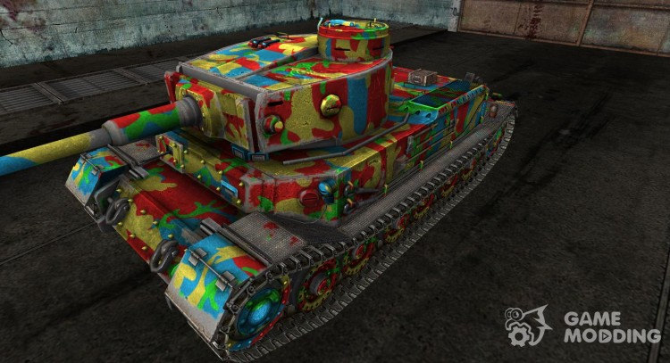 Skin for the Panzer VI Tiger (P) Circus Tiger
