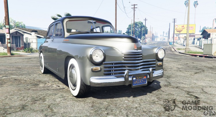 GAZ M-20 Victory for GTA 5
