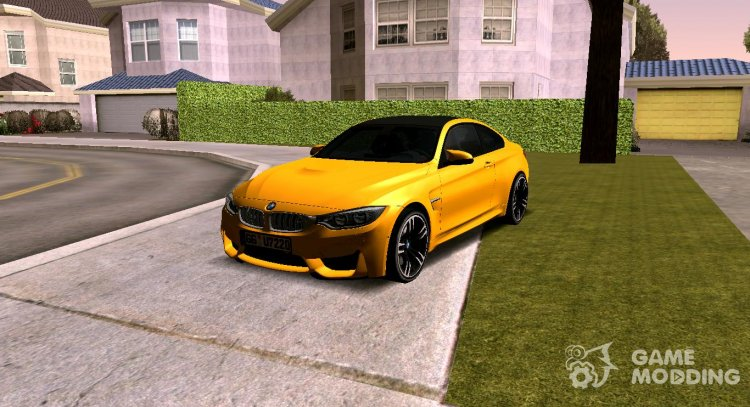 BMW M4 F82 2018 for GTA San Andreas