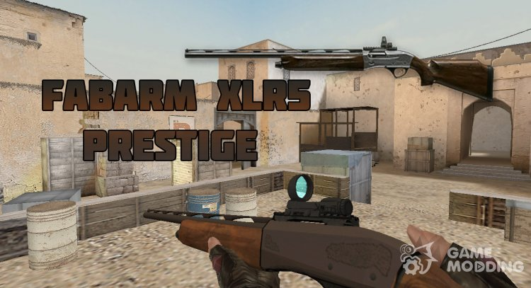 WarFace Fabarm XLR5 Prestige for Counter Strike 1.6