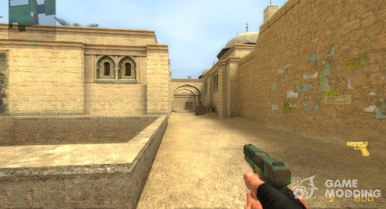 Camo Glock for Counter-Strike Source
