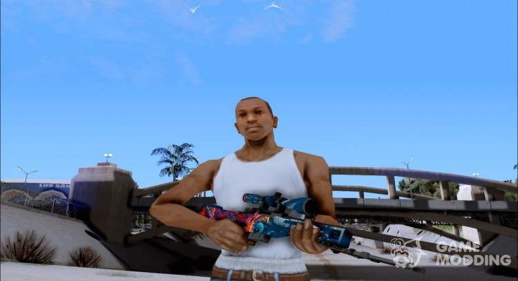 AWP Hyper beast for GTA San Andreas