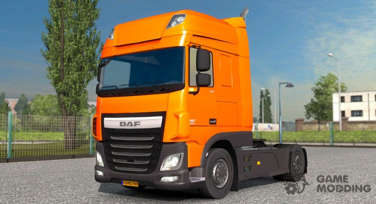 Tuning for DAF Euro 6 for Euro Truck Simulator 2