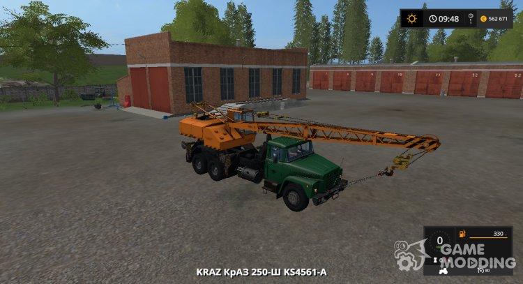 KrAZ 250-W КС4561-AND version 1.3 for Farming Simulator 2017