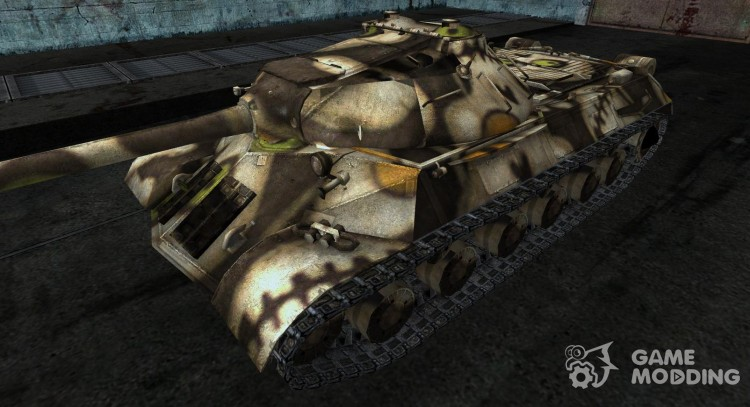 Skin for the is-3 (based on Tanki online) for World Of Tanks