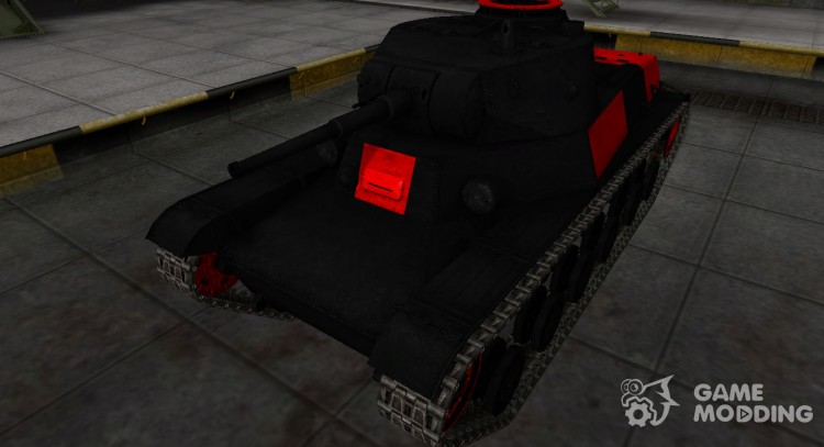 Black and red zone, breaking through the t-50-2 for World Of Tanks