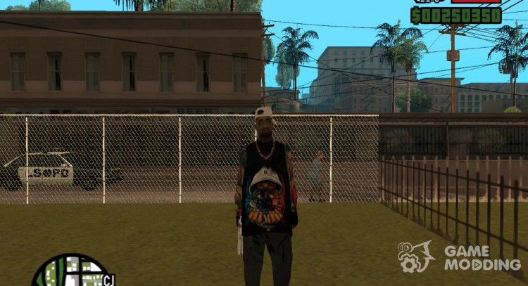 Grove with tattoos для GTA San Andreas