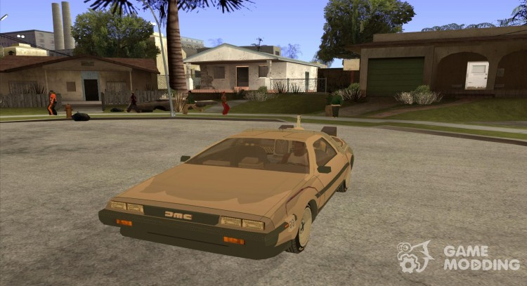 DeLorean DMC-12 (BTTF2) для GTA San Andreas