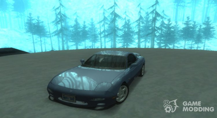 Mazda RX-7 Type R FD '91 Lowpoly for GTA San Andreas