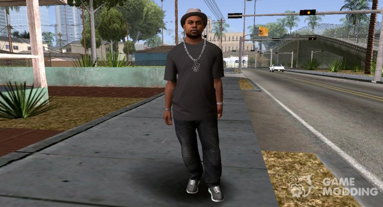 Gerald from GTA V (smoke) for GTA San Andreas