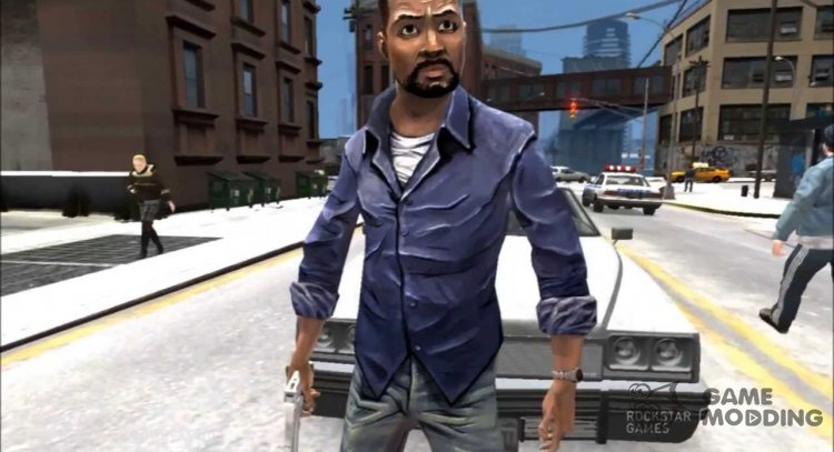 Lee Everett from The Walking Dead for GTA 4