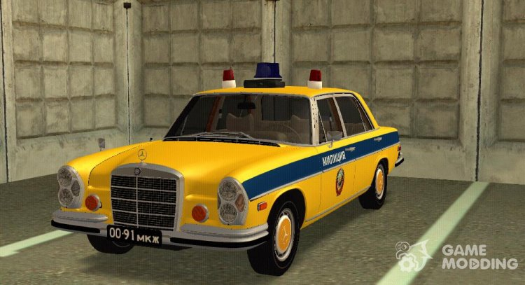 MERCEDES-BENZ W109 300sel Police of the USSR for GTA San Andreas