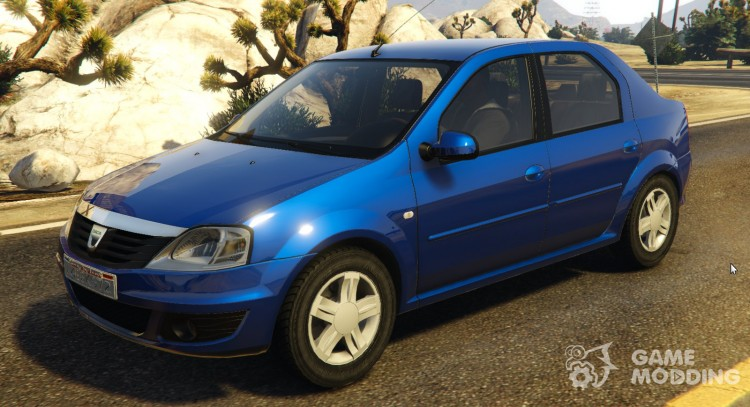 2008 Dacia Logan v 2.0 FINAL for GTA 5