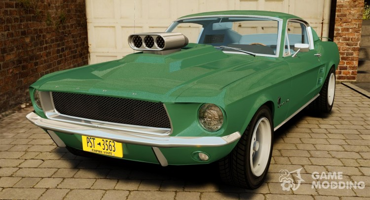 Ford Mustang 1967 for GTA 4