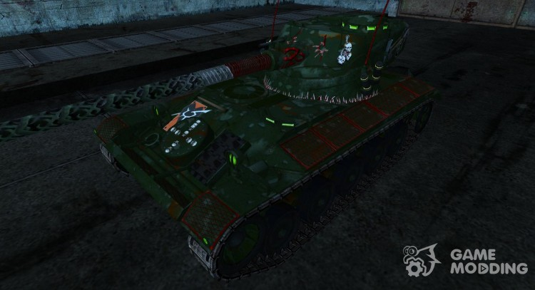 Шкурка для AMX 13 90 (Вархаммер) для World Of Tanks