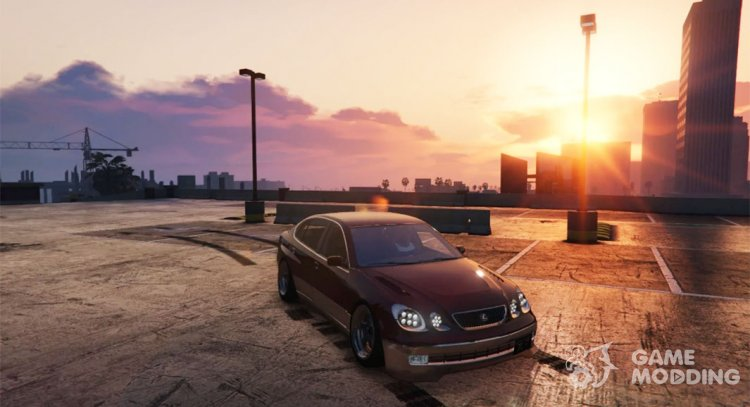 Lexus GS300 for GTA 5