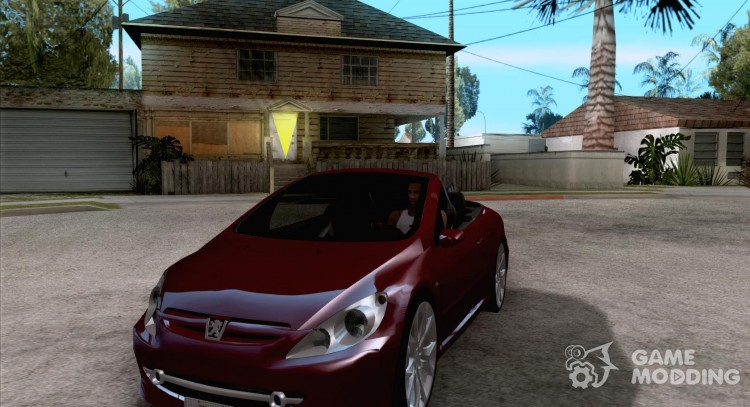 Peugeot 307CC BMS Edition for laptops for GTA San Andreas