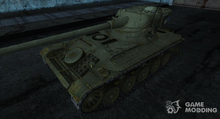 Skin for FMX 13 90 No. 5 for World Of Tanks