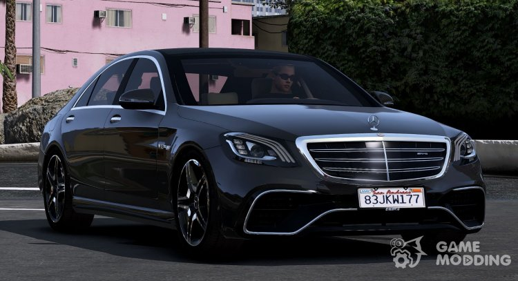 2018 Mercedes-Benz S65 AMG for GTA 5