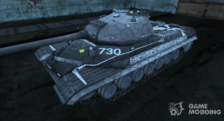 Skin for is-8 Anime for World Of Tanks