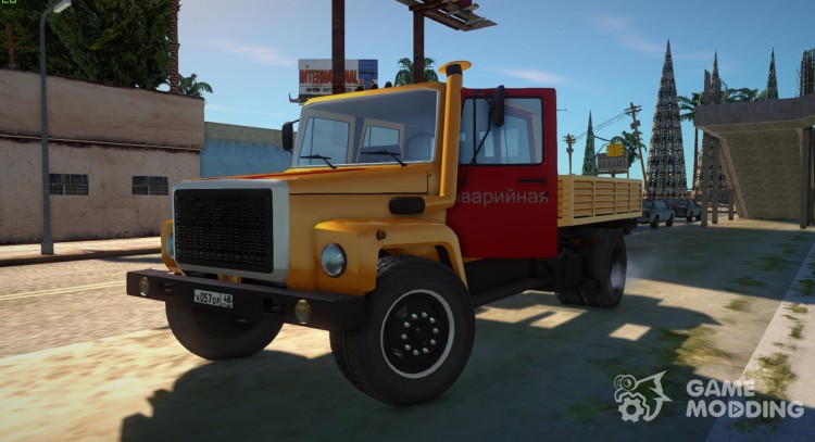 GAZ 3309 Emergency for GTA San Andreas