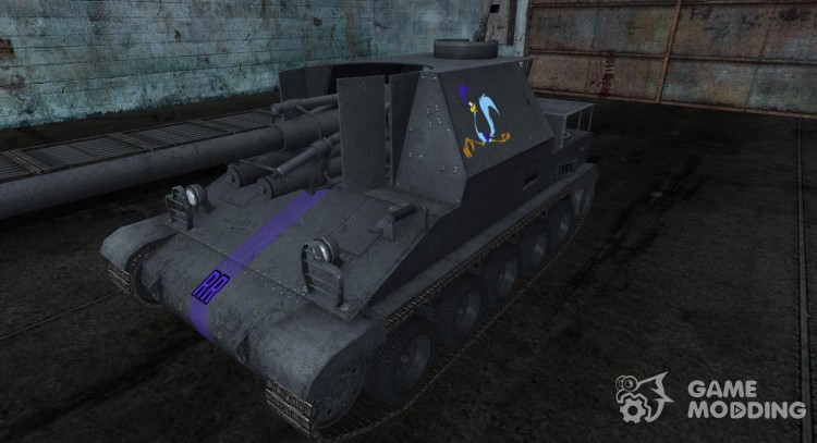 Skin for Lorraine 155 50 for World Of Tanks