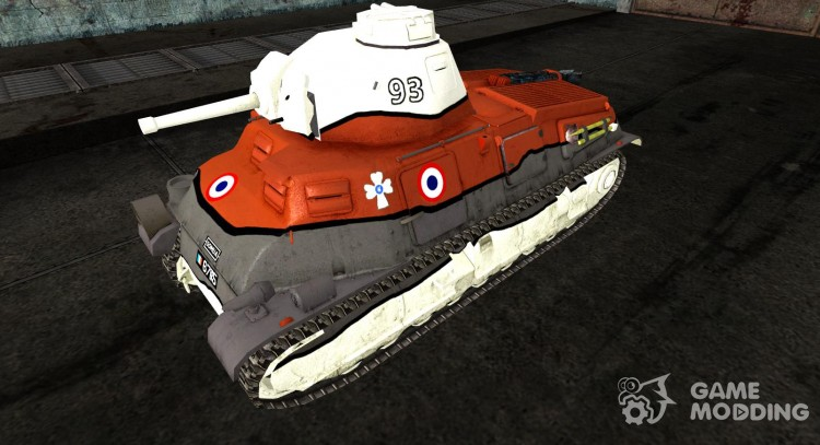 Skin for Panzer S35 739 (f) for World Of Tanks