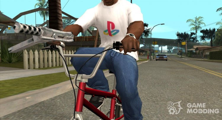 PlayStation T-Shirt for GTA San Andreas