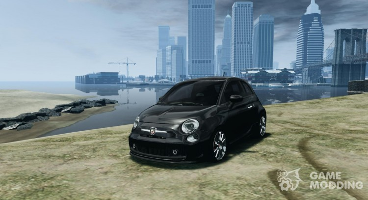 Fiat 500 Abarth Esseesse V 1.0 for GTA 4