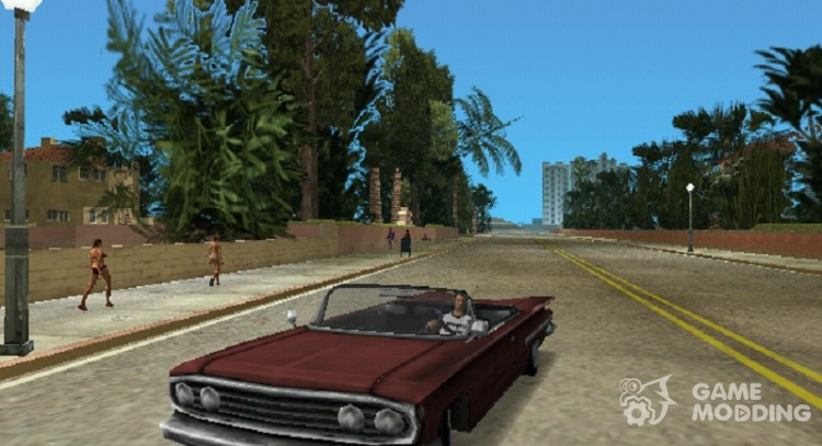 Voodoo Cabrio for GTA Vice City