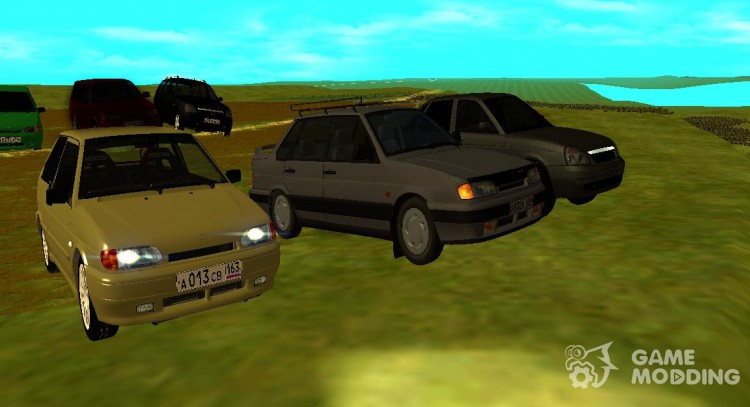 My Pack machines for GTA San Andreas
