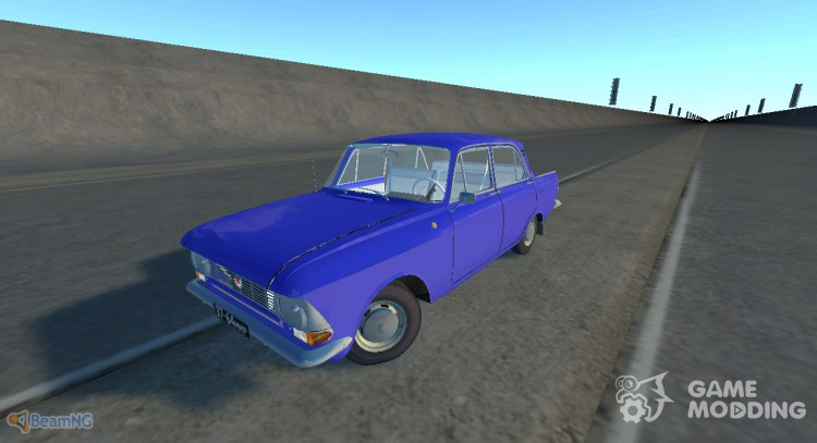 Moskvich-412 for BeamNG.Drive