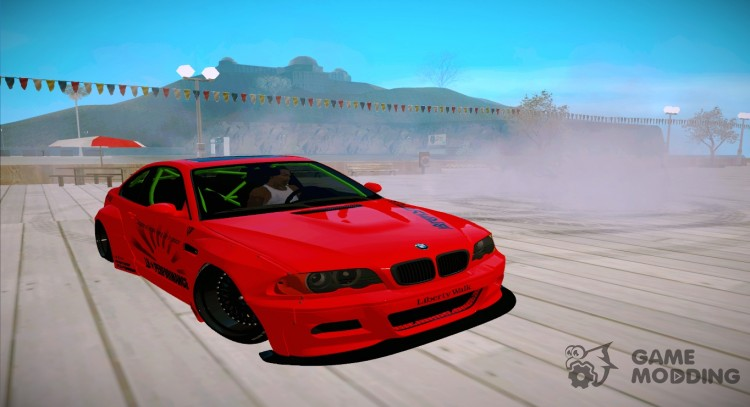 BMW M3 E46 Liberty Walk для GTA San Andreas