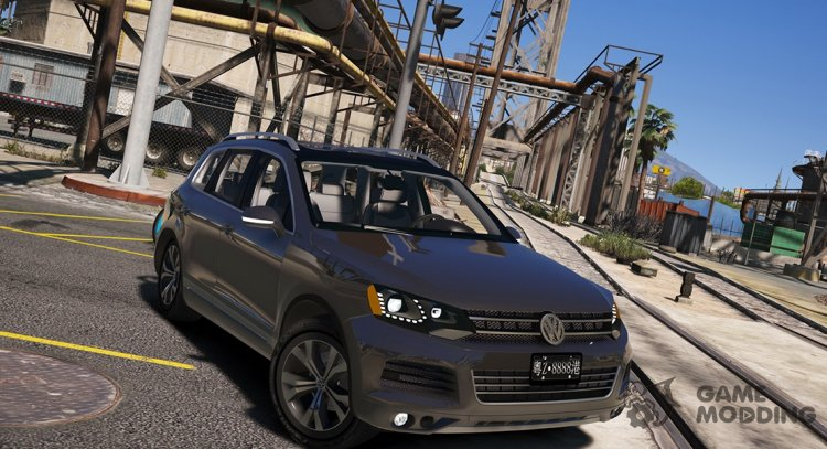 Volkswagen Touareg V8 tdi 1.0 for GTA 5