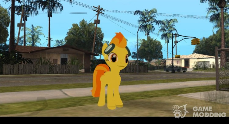 Spitfire (My Little Pony) для GTA San Andreas