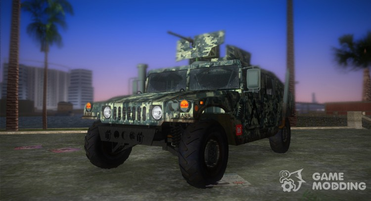 HMMWV M-998 1984 Pixel Camo for GTA Vice City