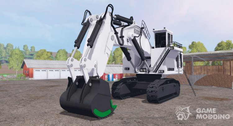 Liebherr R 9800 for Farming Simulator 2015