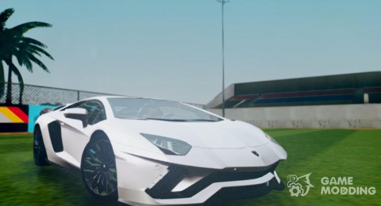 Lamborghini Aventador 2018 S LP740-4 for GTA San Andreas
