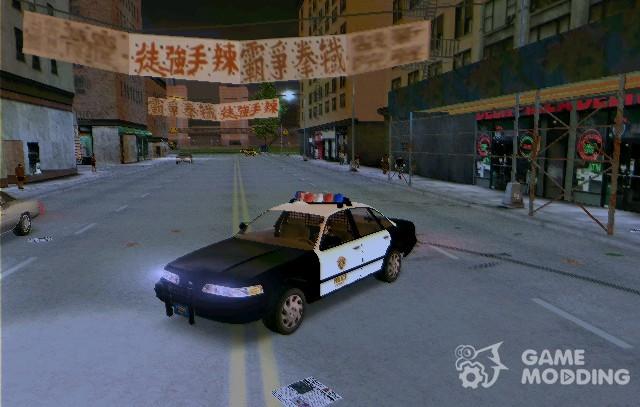 Raccoon City Police Car (Resident Evil 3) for GTA 3