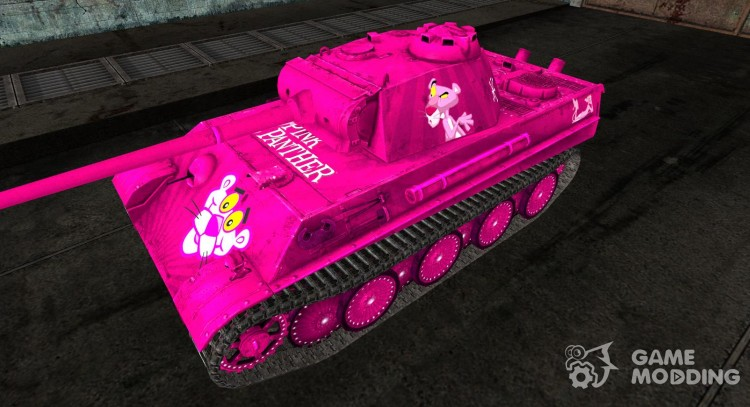 Skin for the Panzer V Panther