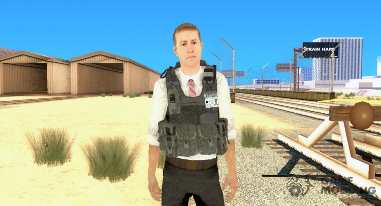 Skin of COD MW 2 Secret Service for GTA San Andreas