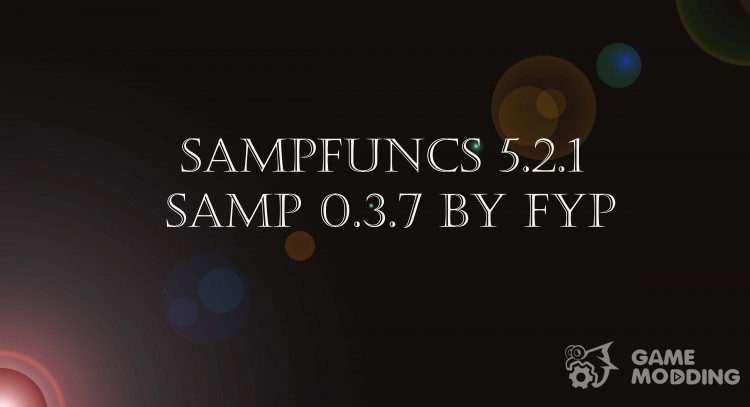 SAMPFUNCS 5.2.1 for SAMP 0.3.7 для GTA San Andreas