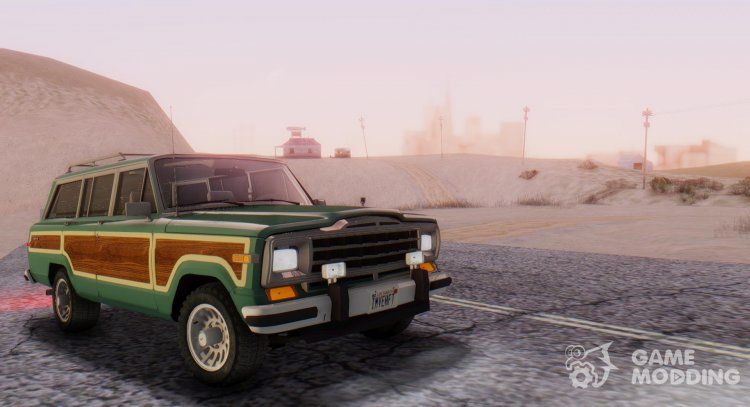 Jeep Grand Wagoneer 1986 for GTA San Andreas