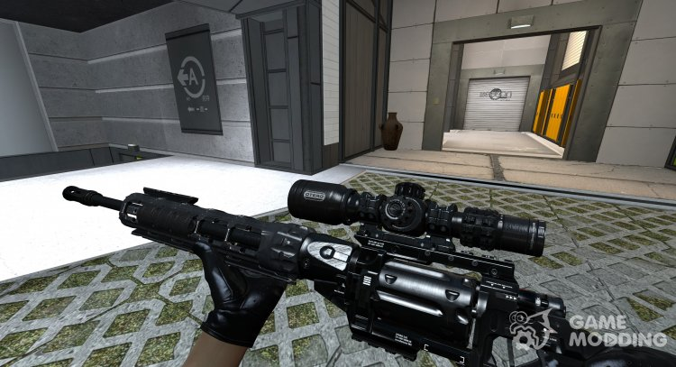 Outlaw models for Counter-Strike Source