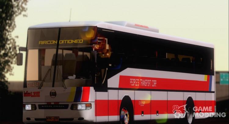 Nissan Diesel UD Santarosa Peoples Transport Corporation Berline LVIII For  GTA San Andreas