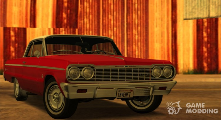 Chevrolet Impala SS 1964 Final for GTA San Andreas